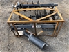 2019 Unused Auger / Post Hole Digger Attachment