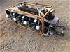Unused Hydraulic Tiller Attachment