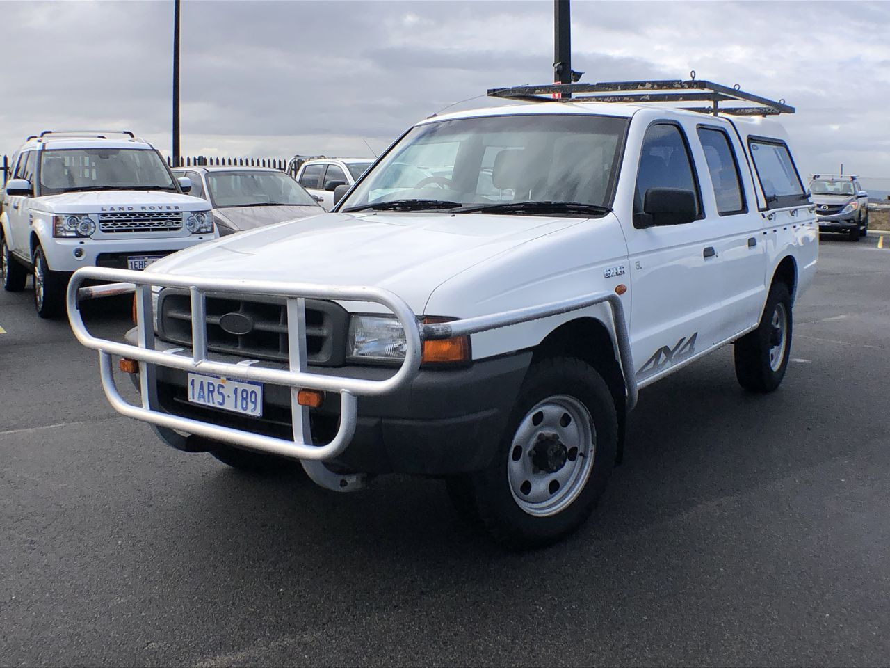 2000 Ford Courier GL (4x4) PE Manual Dual Cab