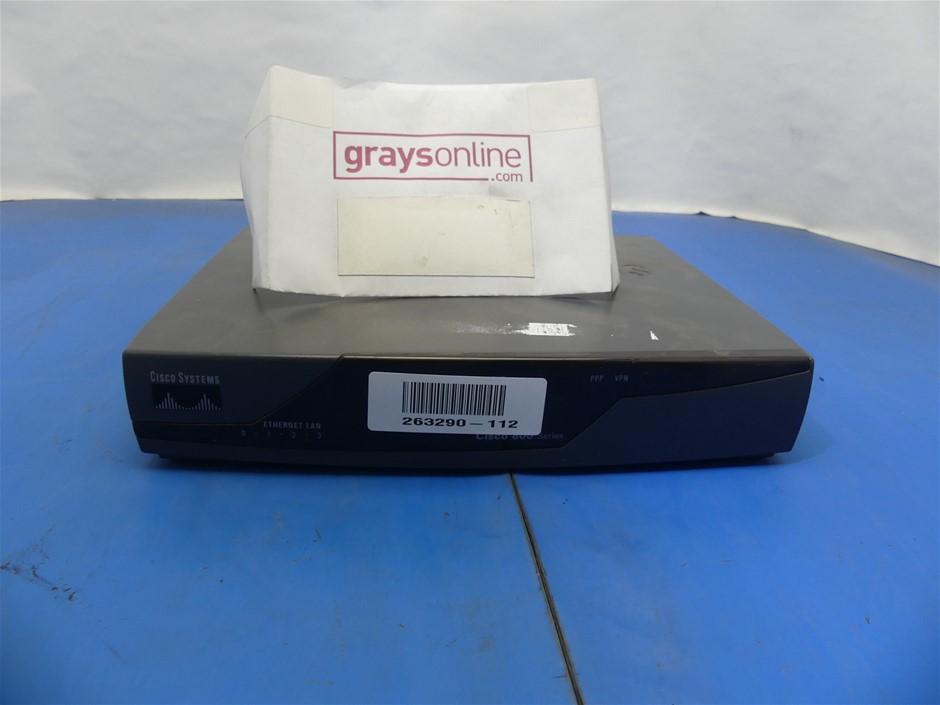 Cisco Systems Cisco877-K9 V01 Broadband Routers