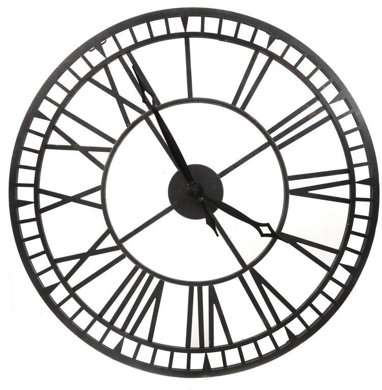 ACURITE Indoor/Outdoor Bronze Metal Wall Clock 60cm, N.B Not in original bo