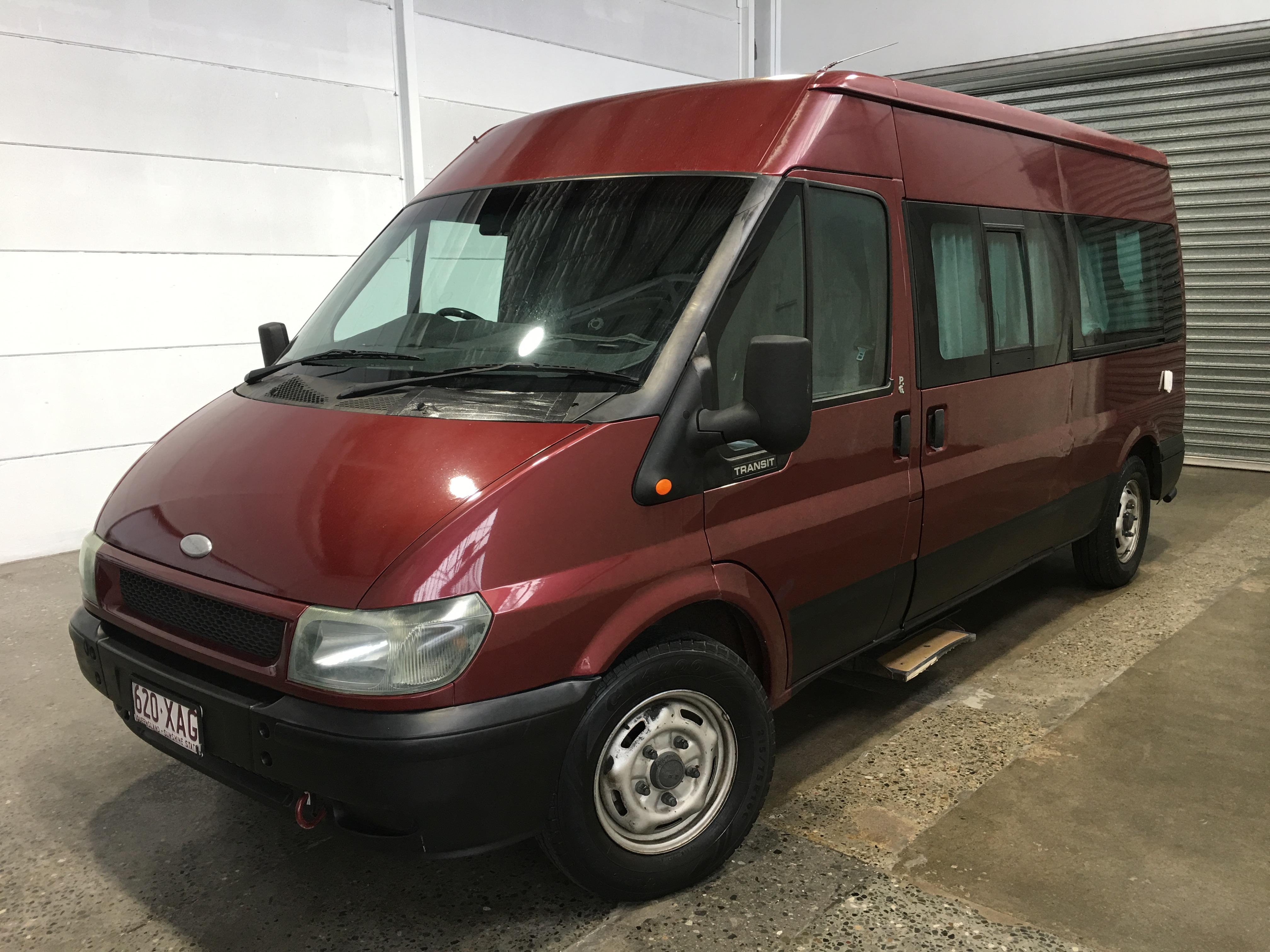 2002 Ford Transit Campervan VH Turbo Diesel Manual Bus