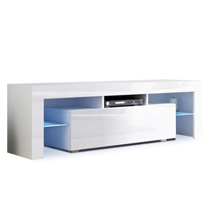 Artiss 130cm RGB LED TV Stand Cabinet Gl