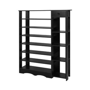 Artiss 32 Pairs Wooden Shoe Rack Cabinet