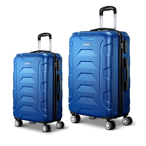 Wanderlite 2PCS Carry On Luggage Sets Su