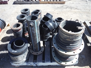 Pallet of Weld on Flanges Poly