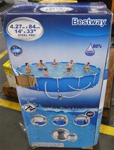 Bestway 4.27m x 84cm Steel pro pool pack