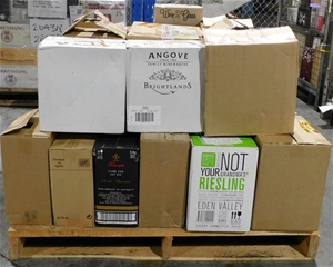 Pick Up Only A Mixed Pallet of Wine - Ap
