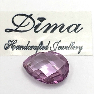 One Stone Pink Topaz 5.40ct in Total