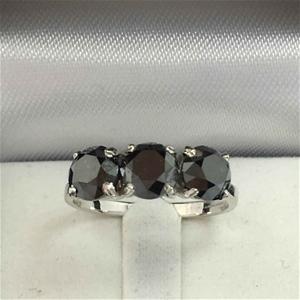 18ct White Gold, 3.34ct Diamond Ring