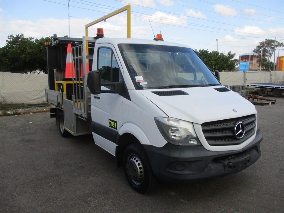 2014 Mercedes Benz Sprinter Diesel Automatic Cone Truck, 61,892km