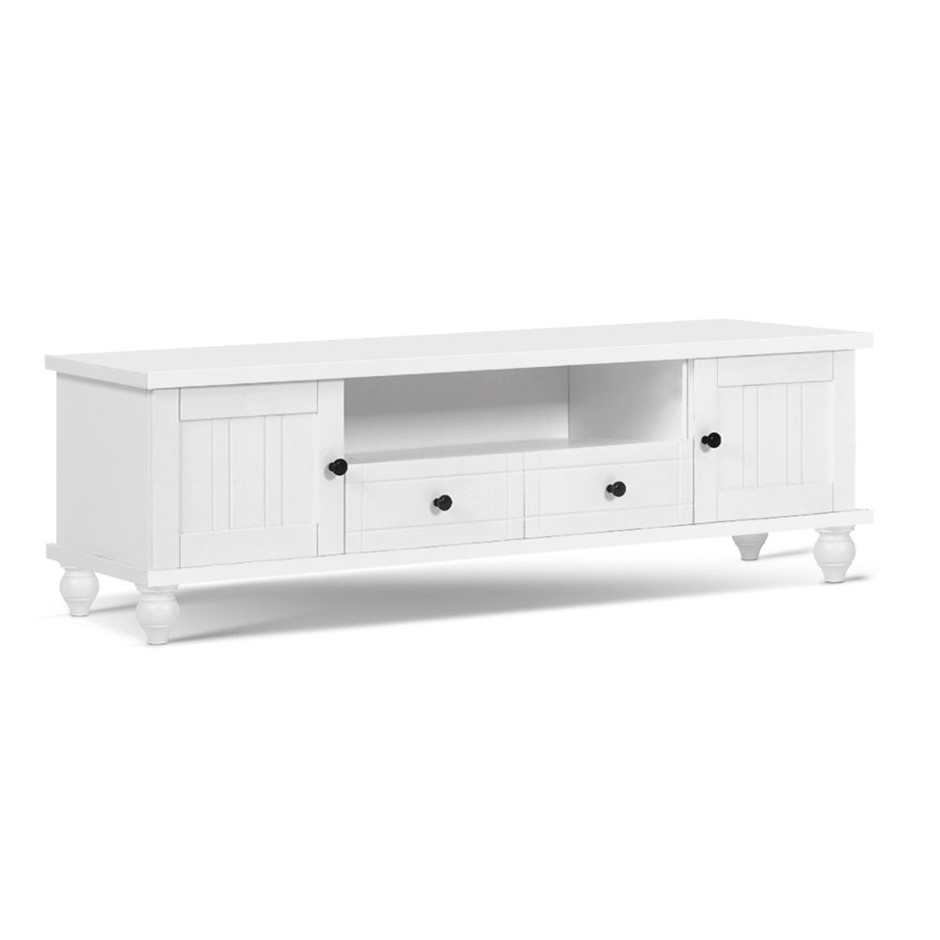 Artiss 162cm TV Stand Unit French Provincial Storage Cabinet Drawers White