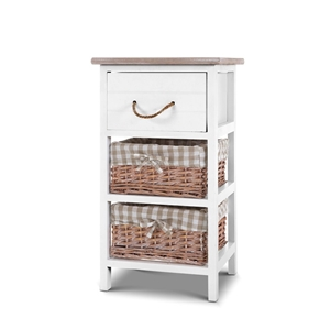 Artiss Storage Cabinet Bedside Table Dre
