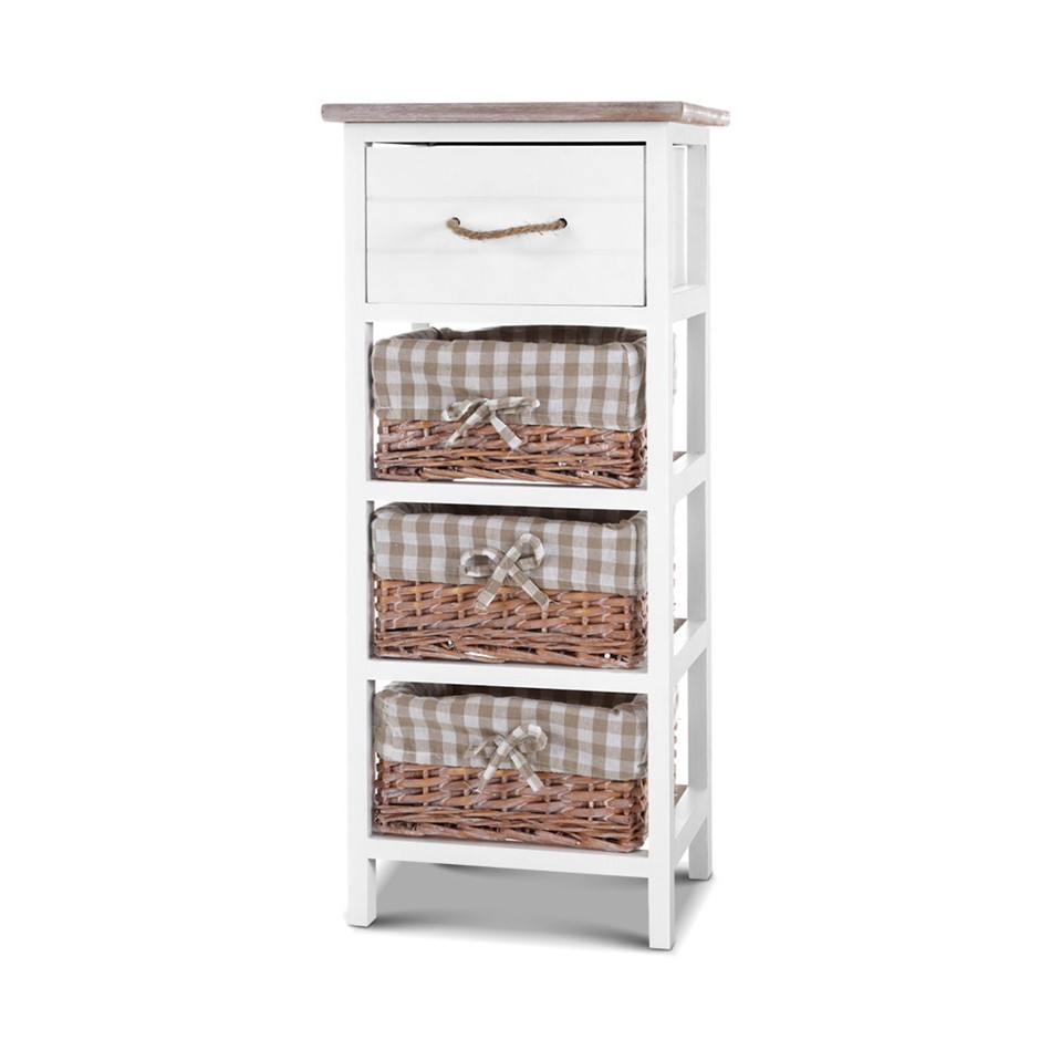 Artiss Storage Cabinet Chest of Drawers Dresser Bedside Table Nightstand