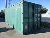 Unreserved 20 ft Container & Workshop Equipment