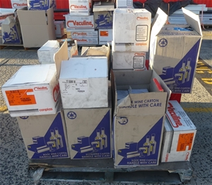 Pallet of Assorted Vacuum Accessories an