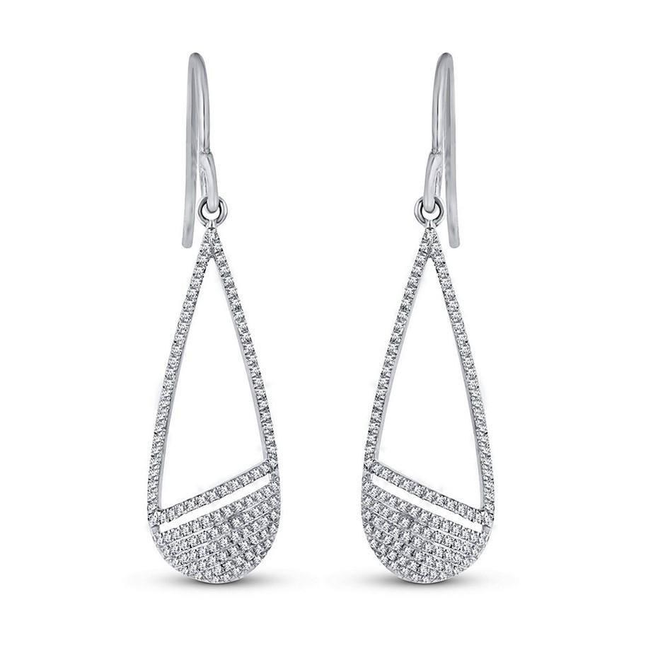 056c044ca513b 1 carat princess cut diamond earrings | Graysonline