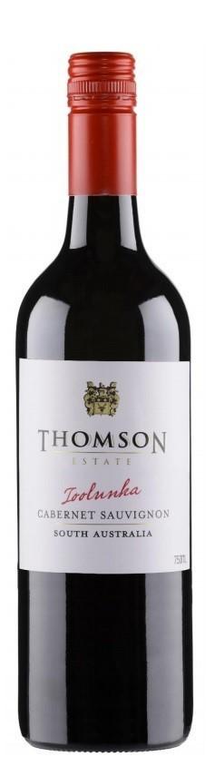Thomson Estate Toolunka Cabernet 2018 (12 x 750mL) SA