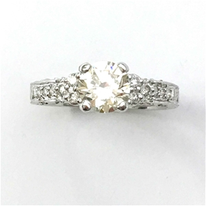 18ct White Gold, 1.20ct Diamond Engageme