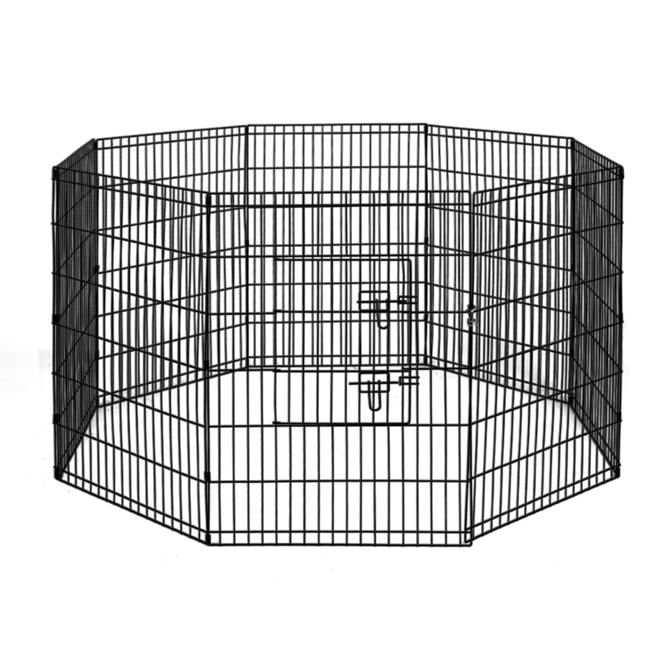 "i.Pet 36"" 8 Panel Pet Dog Playpen Puppy Exercise Cage Enclosure Fence 2pcs"