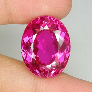 33.95 CT SWEETLY! OVAL CUT PINK TOPAZ