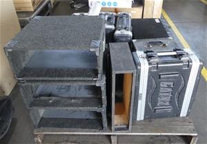 Pallet of Assorted Empty Cases