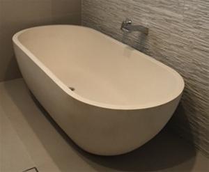 Limestone Freestanding Bath, 1700 x 800