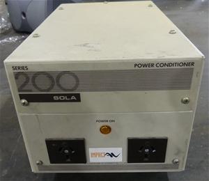 Solar Power Conditioner Model SOLAR200
