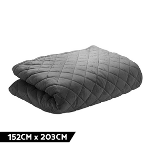 Giselle Cotton Weighted Blanket Zipper C