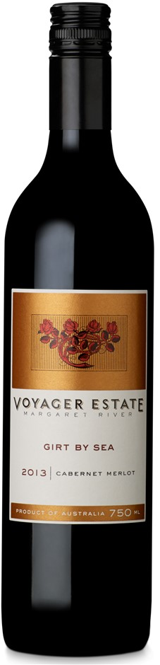 Voyager Estate Girt by Sea Cabernet Merlot 2013 (6 x 750mL) Margaret River