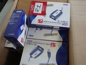 Qty 17 x USB Extender Cable
