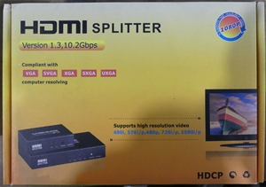 IMAGE HDMI Splitter - 1 In / 4 Out (HDMI