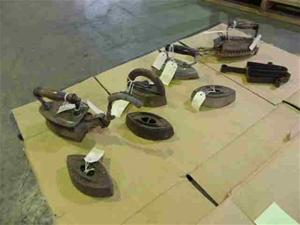 Assorted Antique Irons (Pooraka, SA)