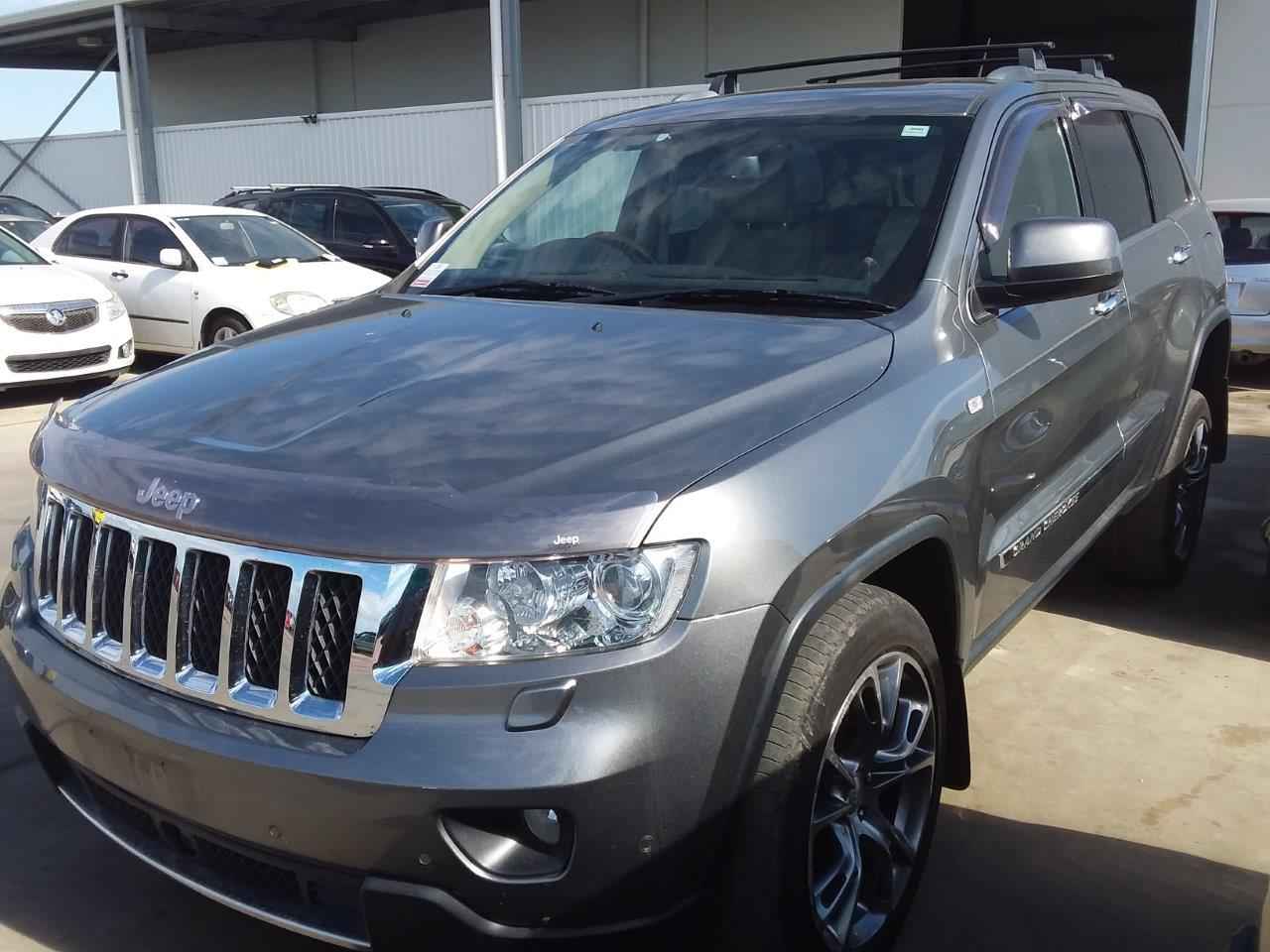 2012 Jeep Grand Cherokee Overland (4x4) WK T/Diesel Auto Wagon 122,700km