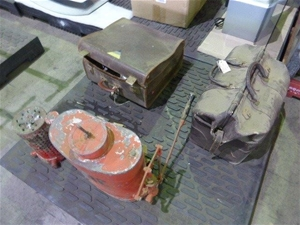 Antique Firefighting Equipment and Docto