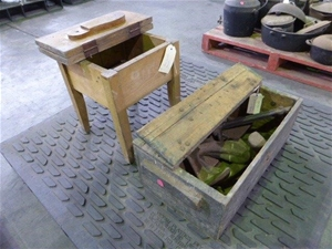 Boot Polish Station and Cobblers Equipme