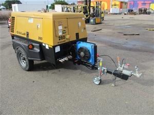 Sullair 260 CFM Mobile Air Compressor
