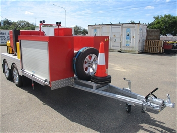 2018 Phoenix Fire Solutions Fire Pump Trailer