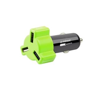 mbeat CHGR-348-GRE Green color 3-port 4.
