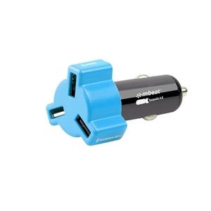mbeat CHGR-348-BLU Blue color 3-port 4.8