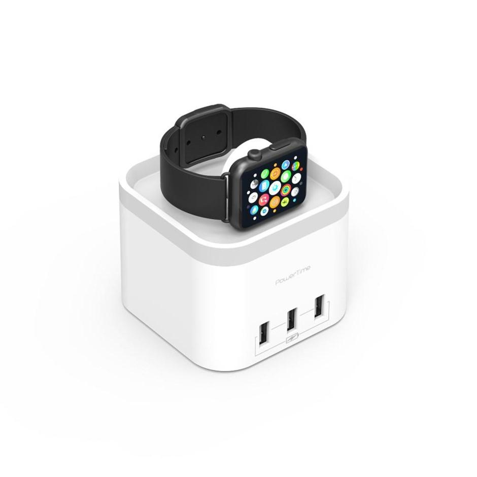 "mbeat MB-CHGR-C58W ""PowerTime"" Apple Watch charging dock"