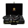 mbeat MB-TR89BLK Woodstock Black Retro turntable player