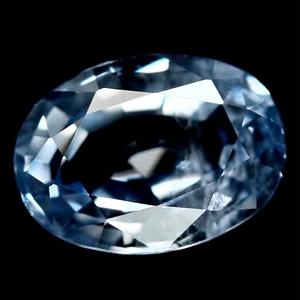 1.09ct. Genuine Oval Facet Blue Ceylon S