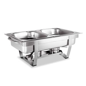 Emajin 9L Bain Marie Chafing Dish 4.5Lx2