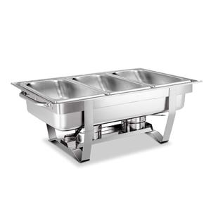 Emajin 9L Bain Marie Bow Chafing Dish 3L