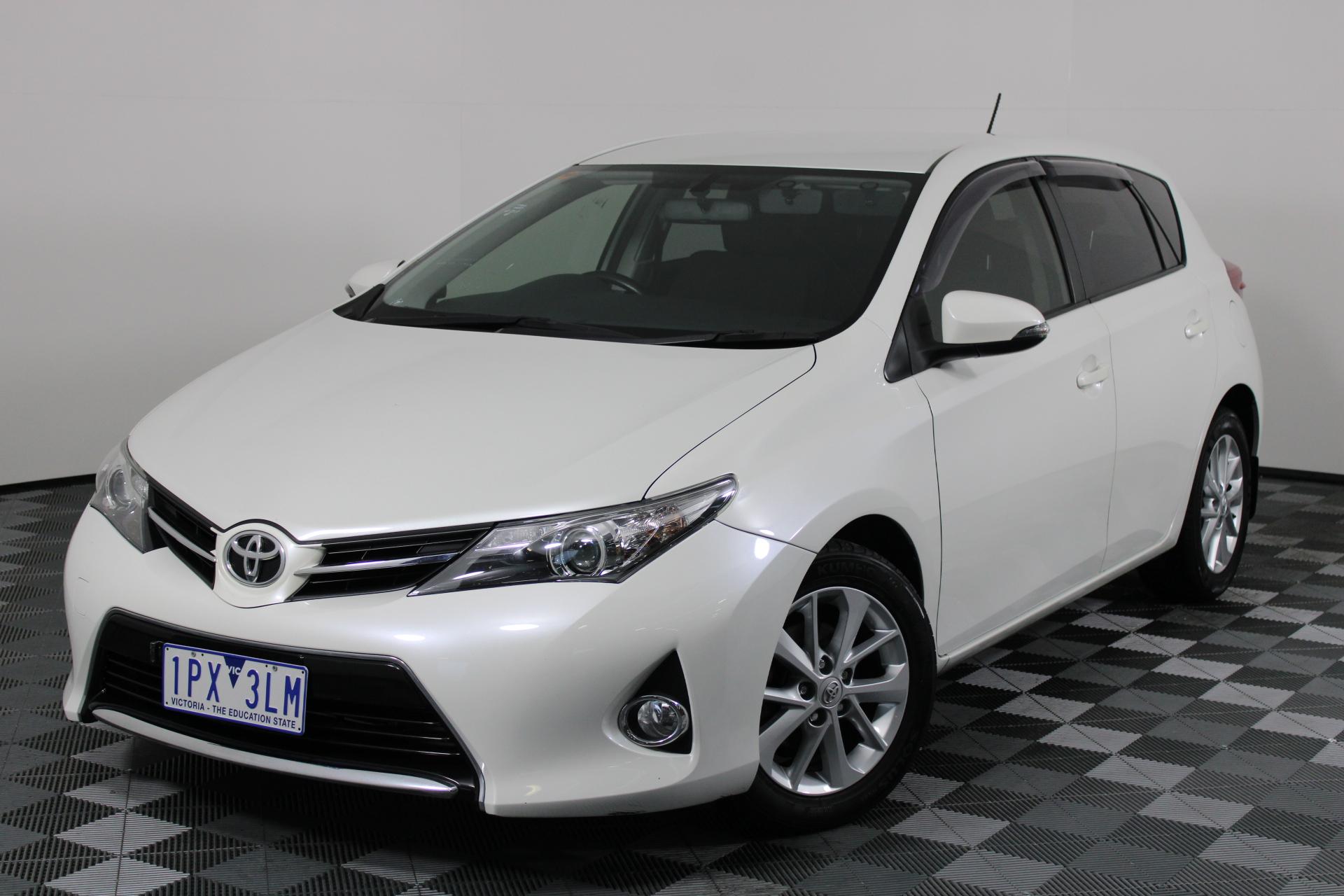 2015 Toyota Corolla Ascent Sport Auto (Ex Driving School Veh) Hatchback