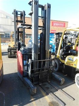 Nichiyu Sicos Ac FBR14 70B 650MCSSF Electric Sit Down High Reach Forklift