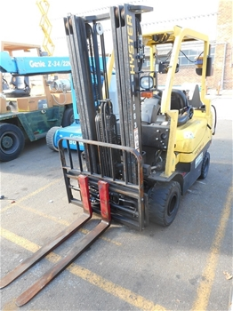 2014 Hyster Fortis H1.8TX 1.8 Ton Gas 4 Wheeled Counter Balance Forklift