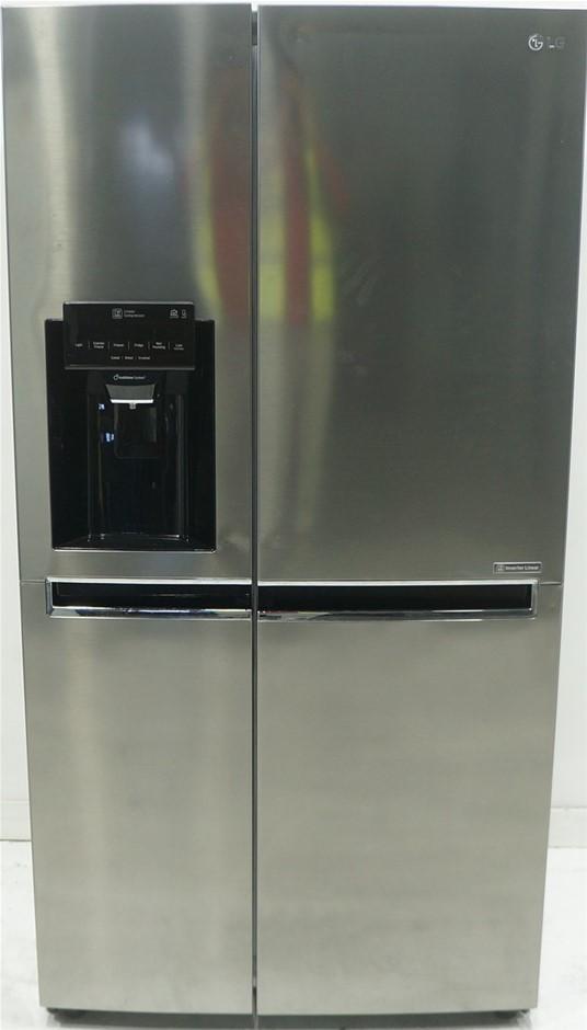 LG GS-L668PNL 668L Side by Side Fridge