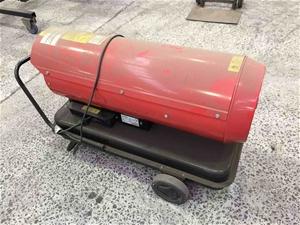 Mobile Spitfire DC 45 Workshop Heater